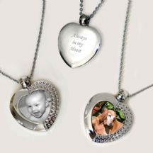 Permanent Image Heart Necklace